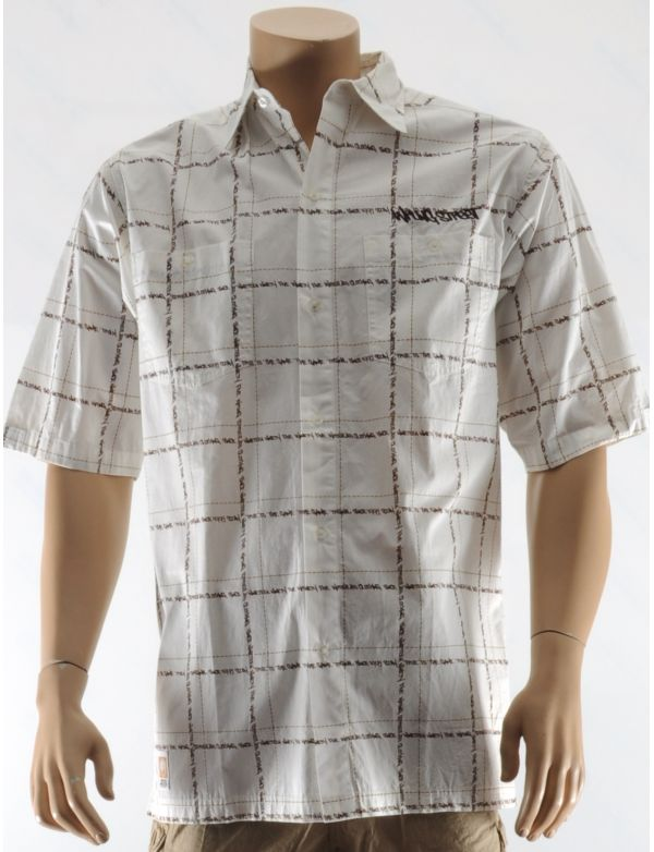 WRUNG CHEMISE WRITERS BLOCK MEN SHIRT